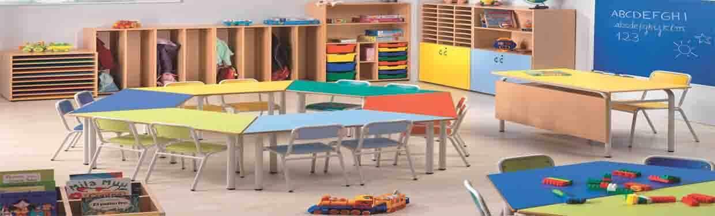 Mobiliario escolar con excelente diseño y calidad